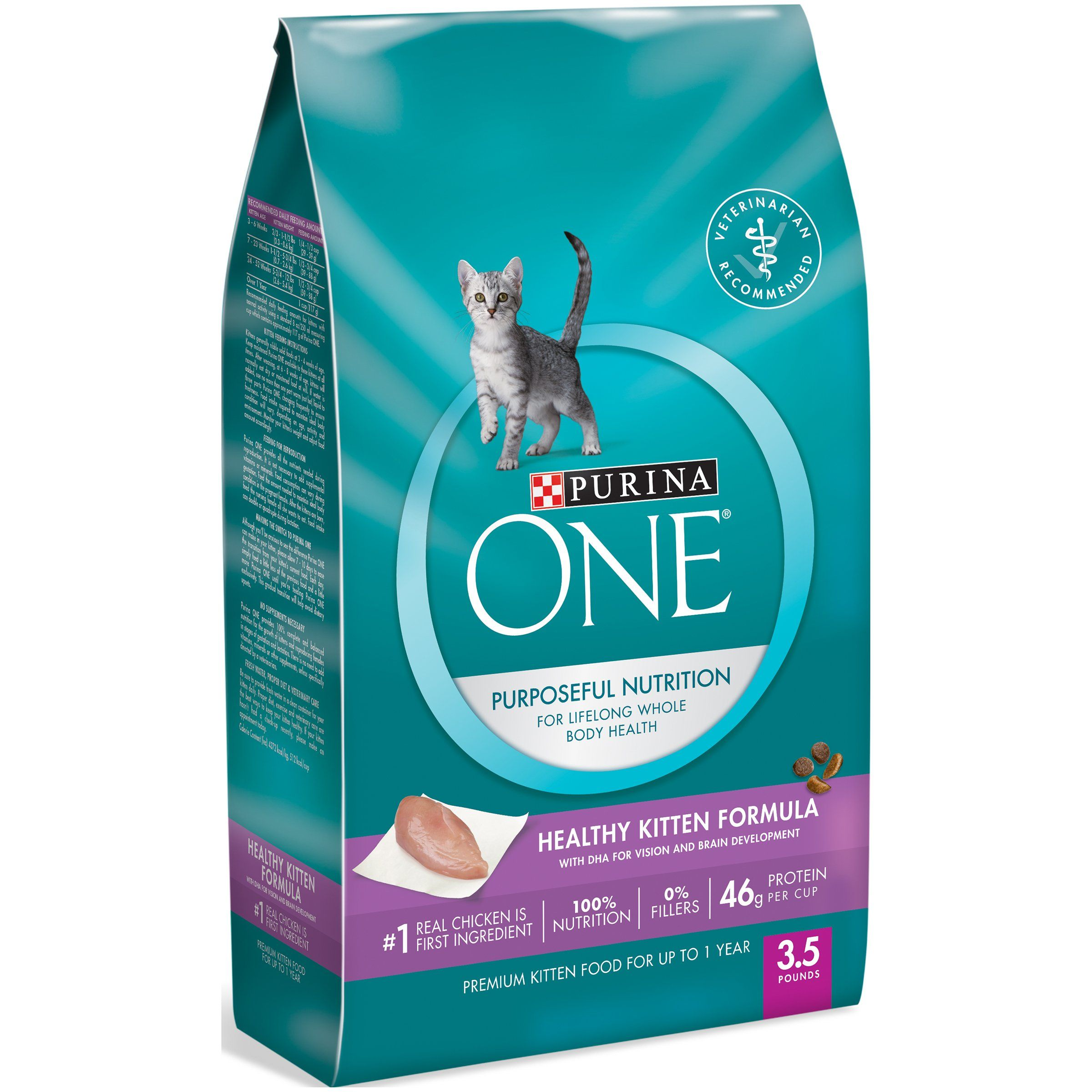 Purina One Healthy Kitten Formula Premium Dry Cat Food Find Out More Reviews Of The Product By Visiting The Link On The P Dry Cat Food Cat Food