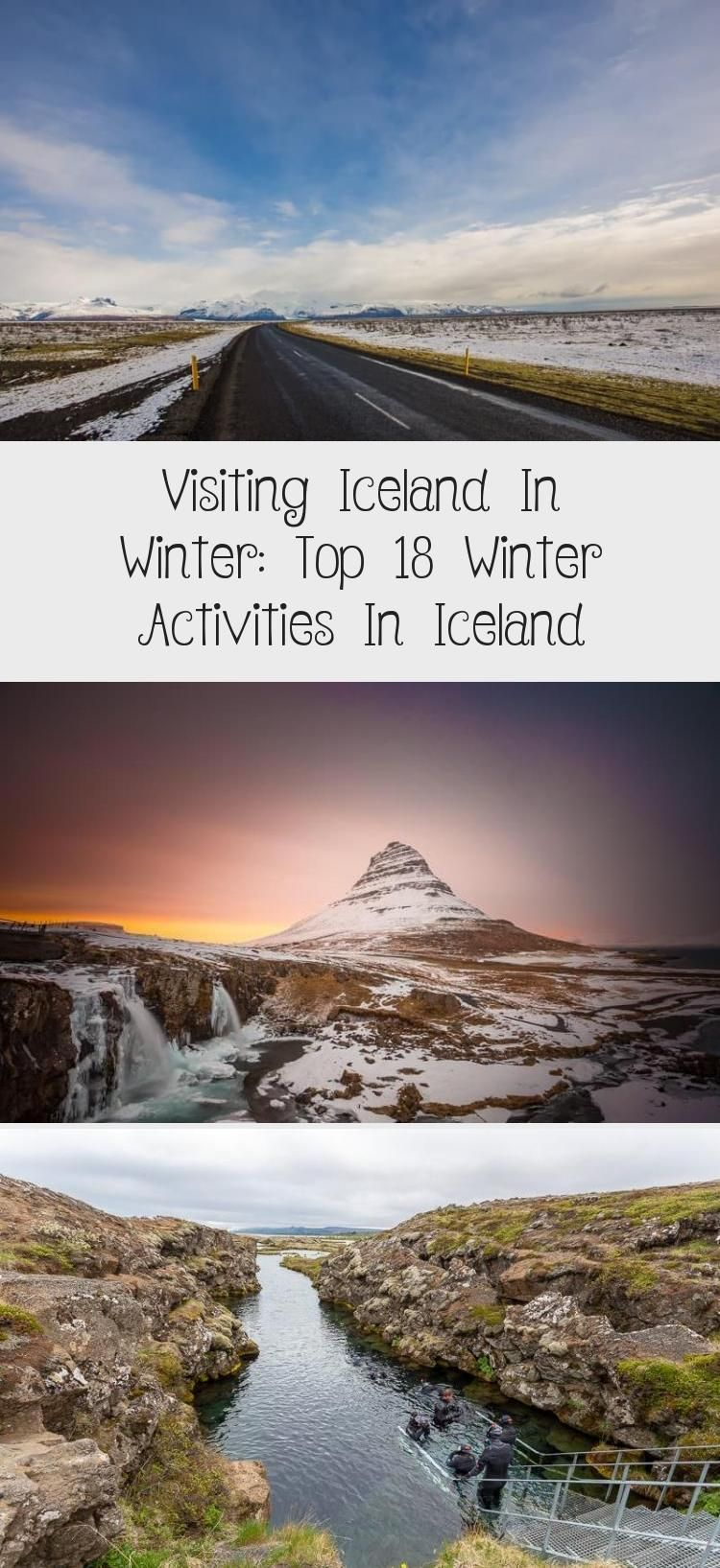 Visiting Iceland In Winter Top 18 Winter Activities In Iceland Visiting Iceland in winter can be a wonderful experience as there are fewer people beautiful winter landsca...