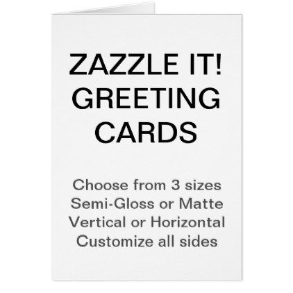 Custom Personalized 425\ - greeting card template