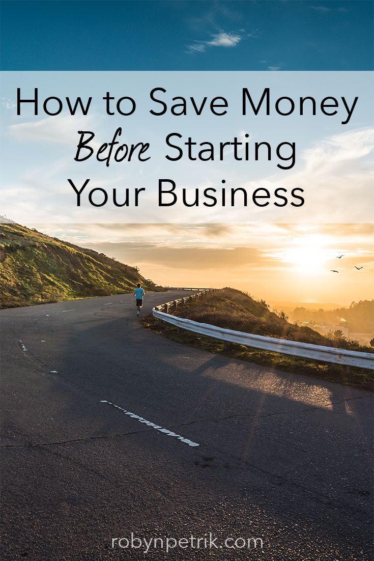 When you're thinking about starting your own business, it's important to pay down debt and save enough for a safety net. Here's how I did it in 2014!     robynpetrik.com