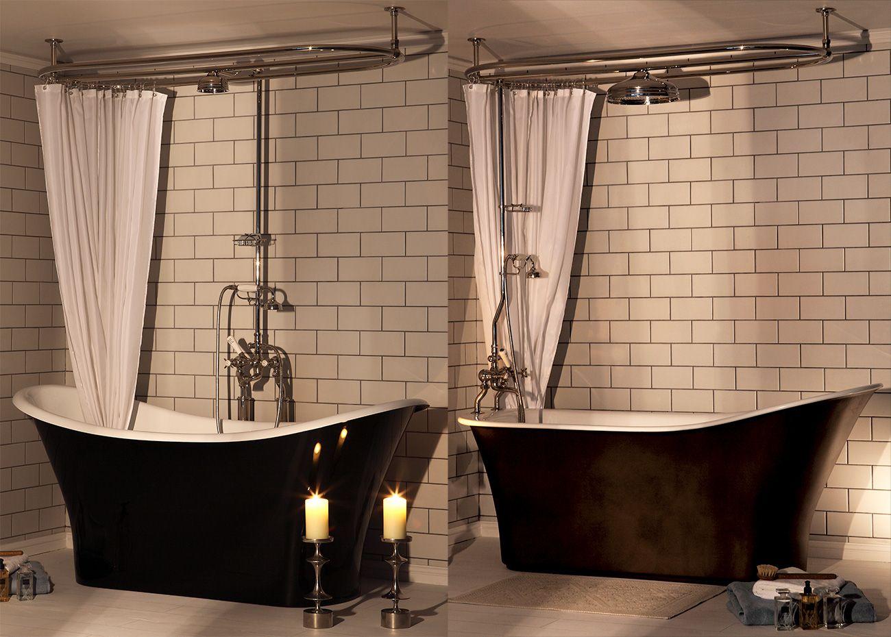 Badkamer douche gordijn stang vaarwel douchegordijn dit