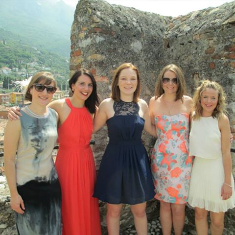 Summer Wedding Guest Outfits Malcesine Lake Garda Italy Abroad