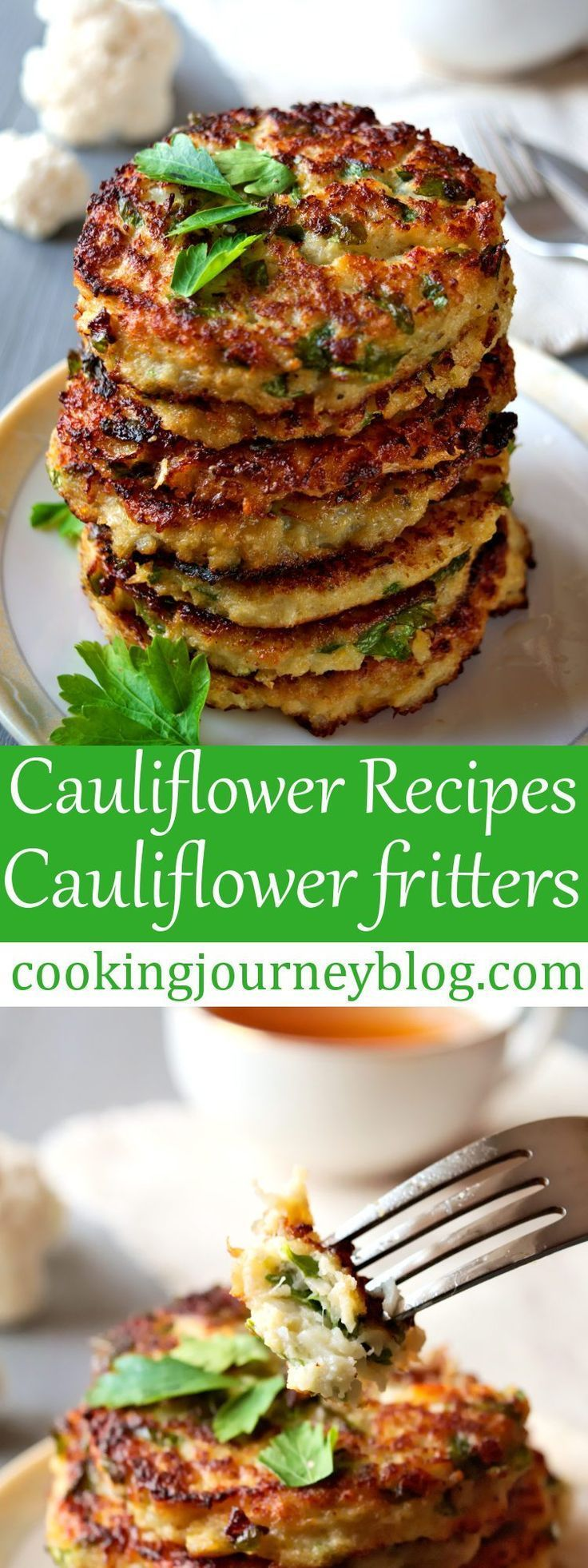 Cauliflower Fritters Best Cauliflower Recipe For Healthy Breakfast