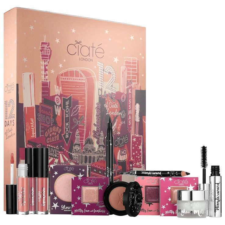 Ciate Holiday 2017 Featuring 12 Days of Ciate London Advent Calendar