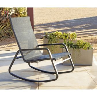 Rocking Would Be My Own Cheap Therapy Cb2 149 Modern Outdoor