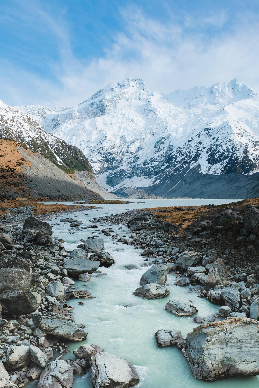 Aoraki Mount Cook National Park South Island New Zealand 3839 X