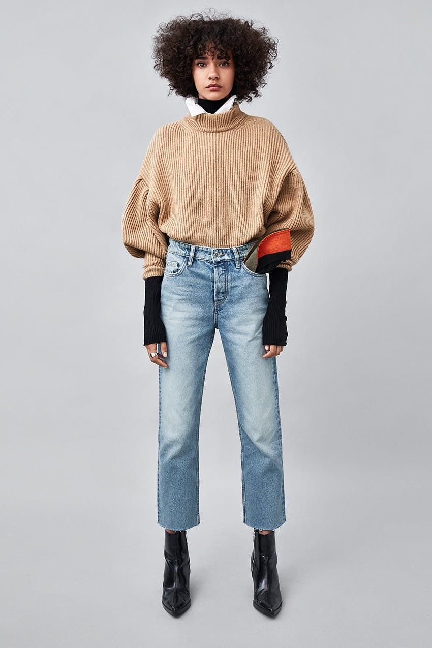 8b99d96b33b 8 Stylish Winter Outfits to Wear With Your Favorite Straight-Leg Jeans