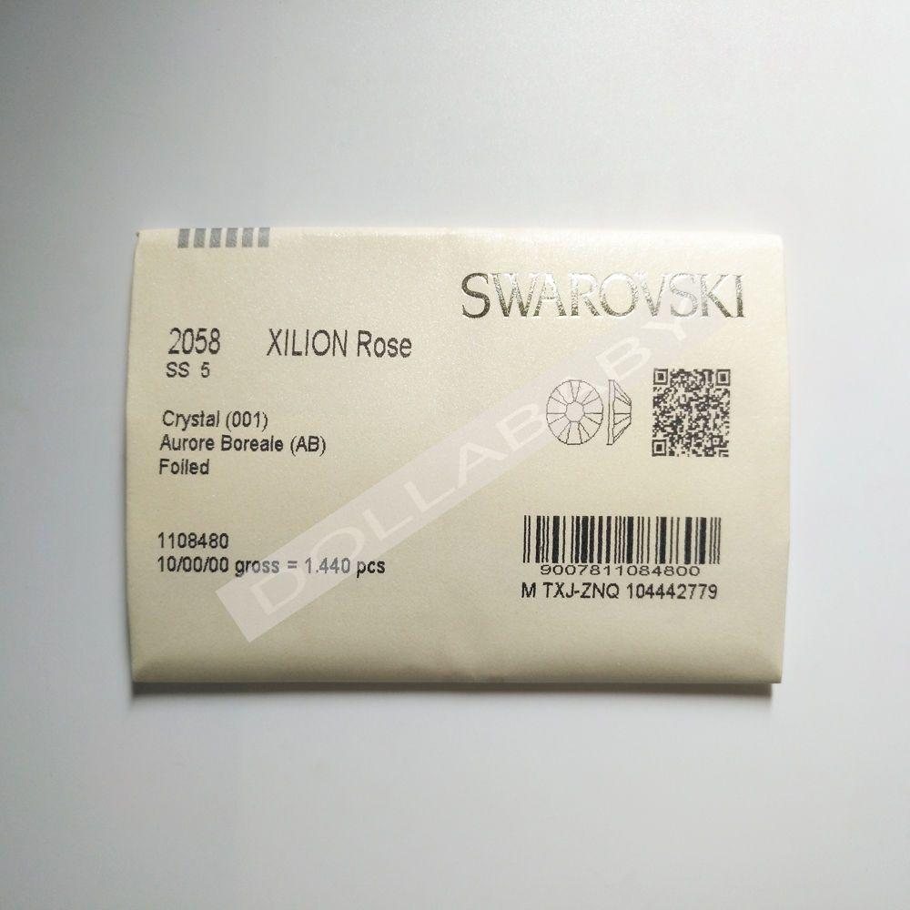 31a87e1cc 1440 Swarovski Rhinestone Flatback Nail Art SS5 CRYSTAL (001) DLBB # Swarovski #FLATBACK