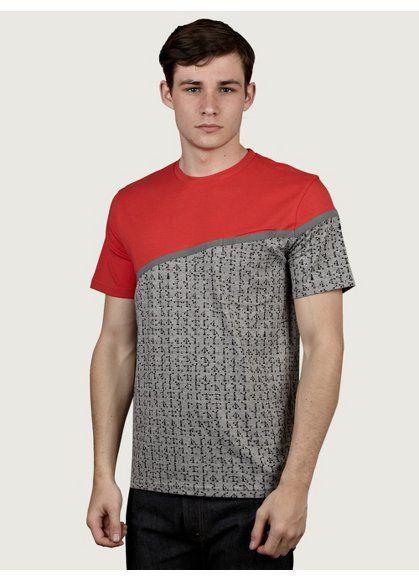 Christopher Raeburn Men's Signal Print Pocket T-Shirt