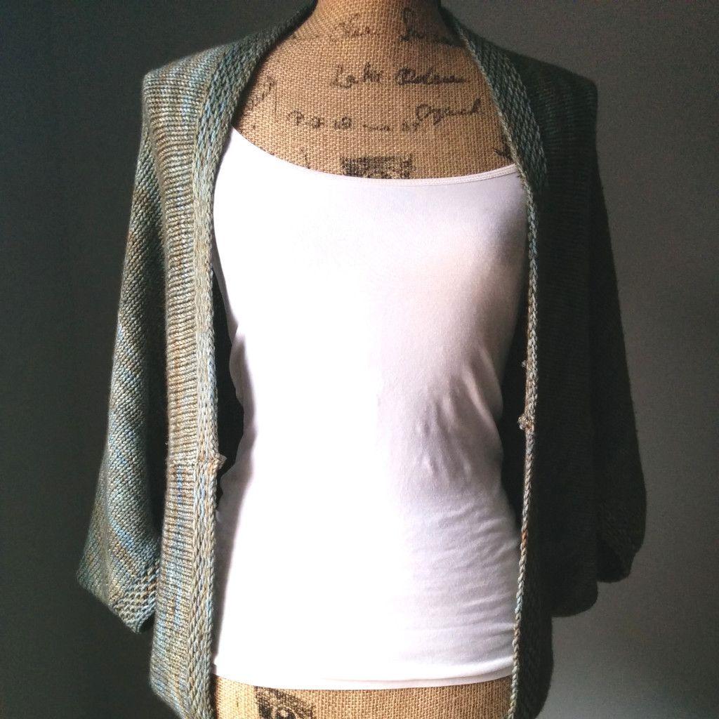 simple knit shrug front free pattern | Free Knitting Patterns ...