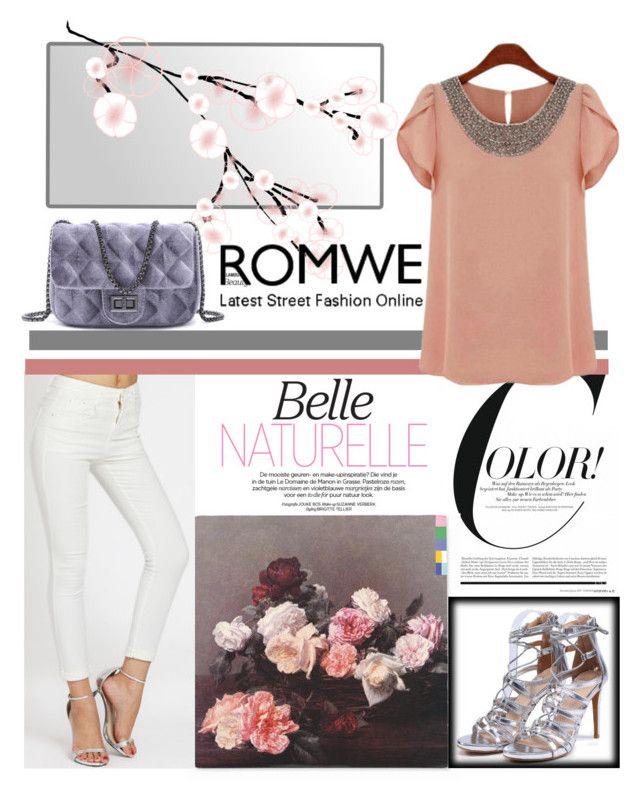 """8# Romwe"" by hazreta1013 ❤ liked on Polyvore"