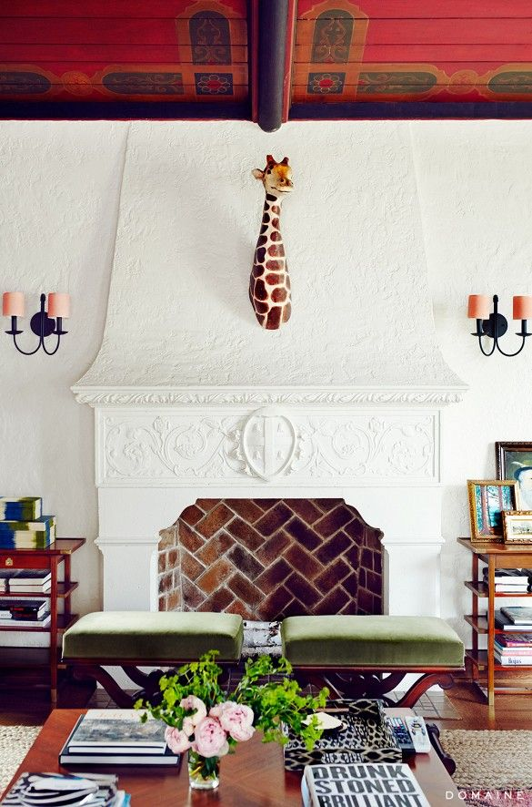 Home Tour The Eclectic LA Of A Breaking Bad Star Design By Bailey McCarthy Photo Chris Patey Via Mydomaine