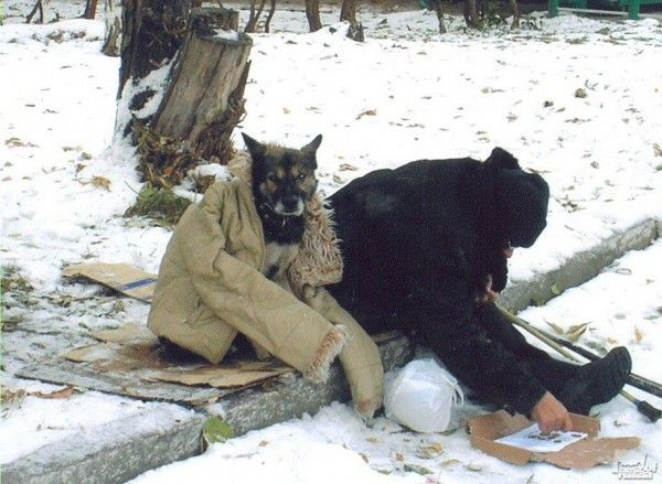 But For Homeless People Extreme Cold Is Deadly On Today The
