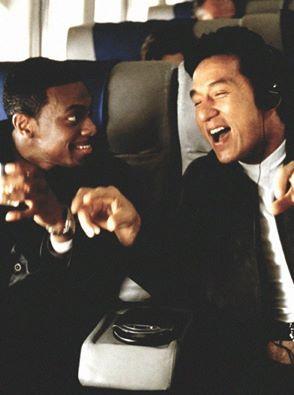 Jackie With Cris Tucker In Rush Hour 2 Jackie Chan Chris Tucker