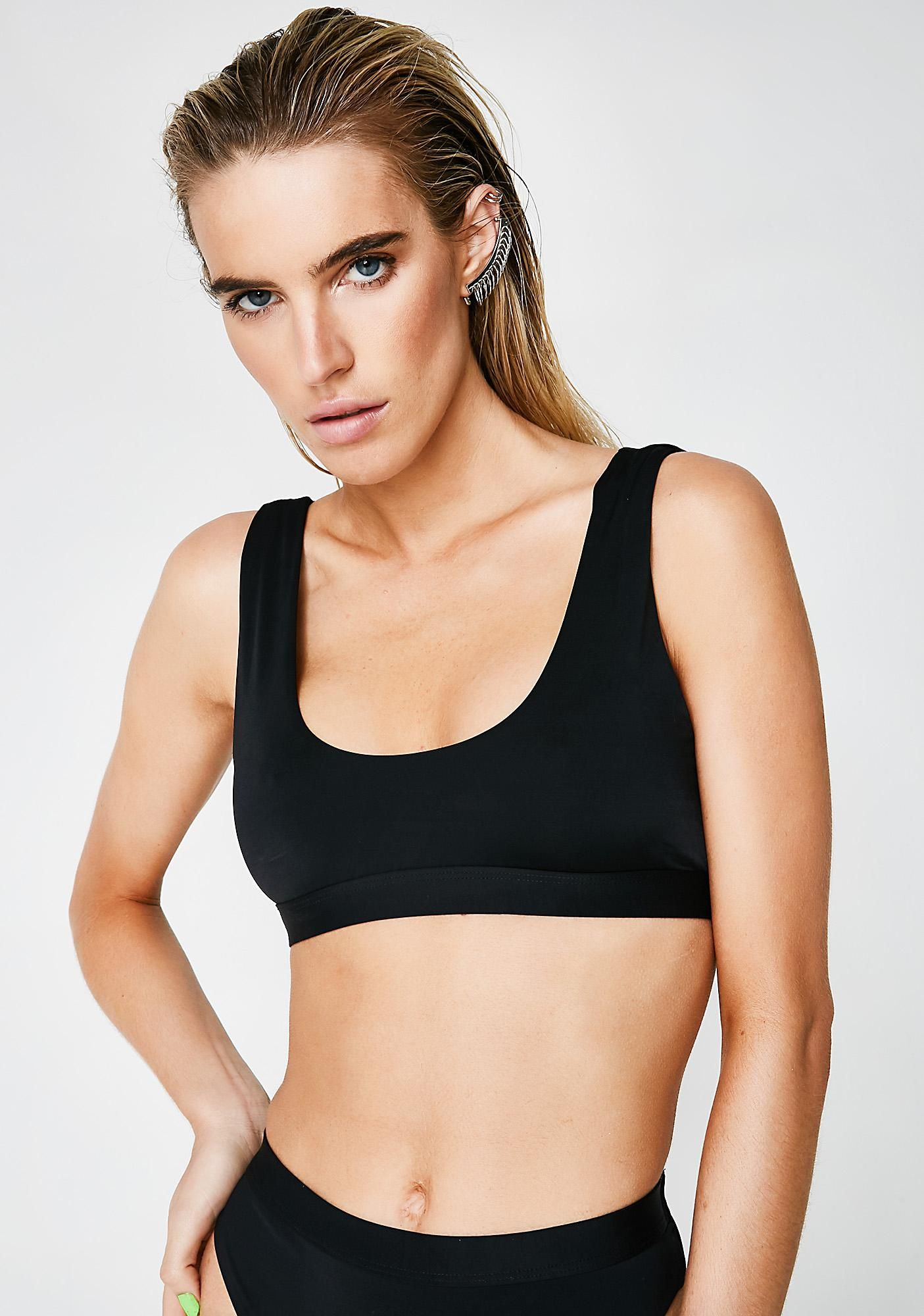 b844df759ae87 Dippin' Daisy's Free, fast shipping on Seamless Sport Bikini Top at Dolls  Kill, an online boutique for punk and rock fashion. Shop graphic tees,  bodysuits, ...