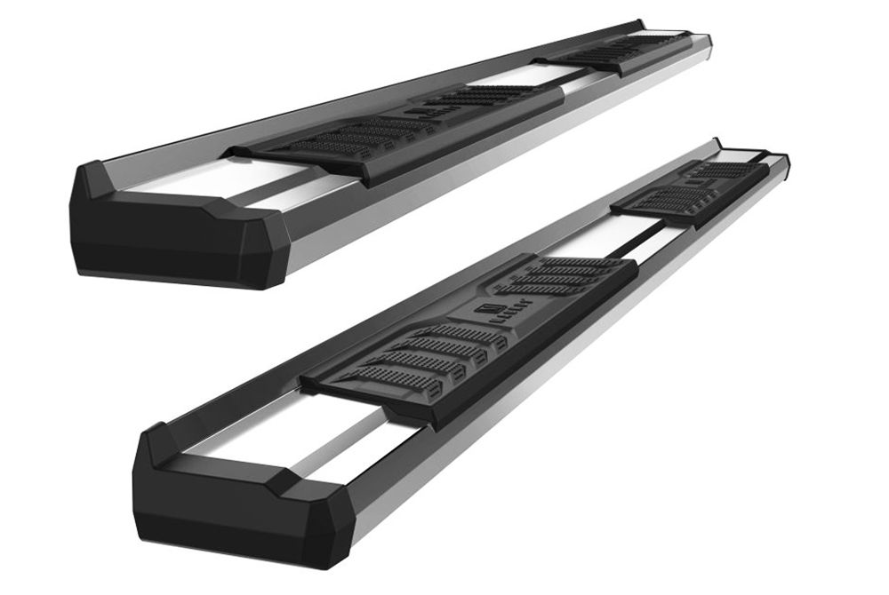 2020 2021 Gmc 2500 3500 Double Cab S Series Running Boards Stainless Steel Wb03sbi5s Running Boards Ner In 2020 Toyota Tacoma Double Cab Ram 1500 Quad Cab Steel