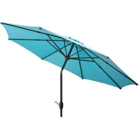 Mainstays 9 Market Umbrella Turquoise