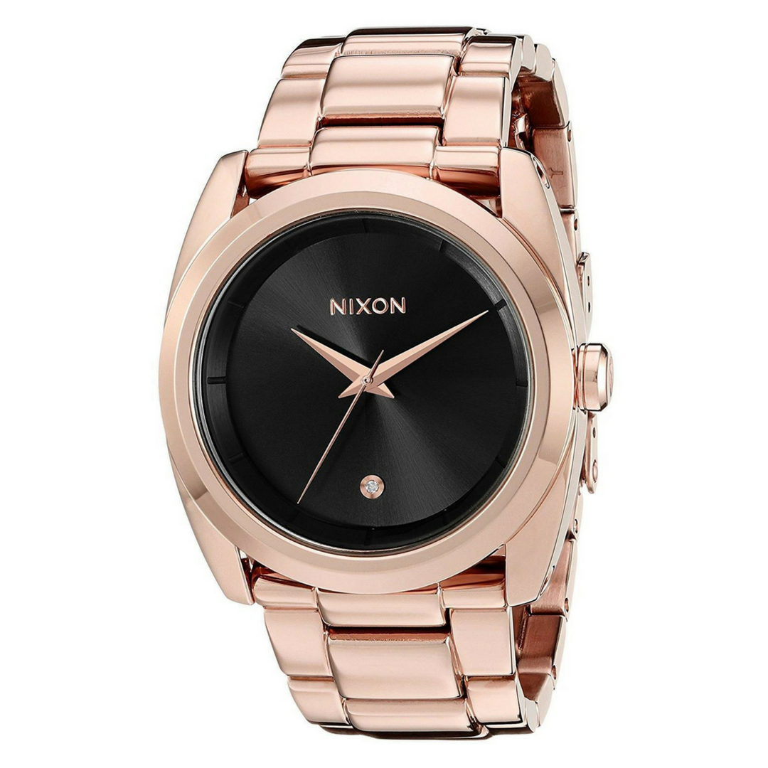 Nixon rose gold queenpin ladies watch products