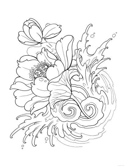 Creative Haven Modern Tattoo Designs Coloring Book Dover Coloring