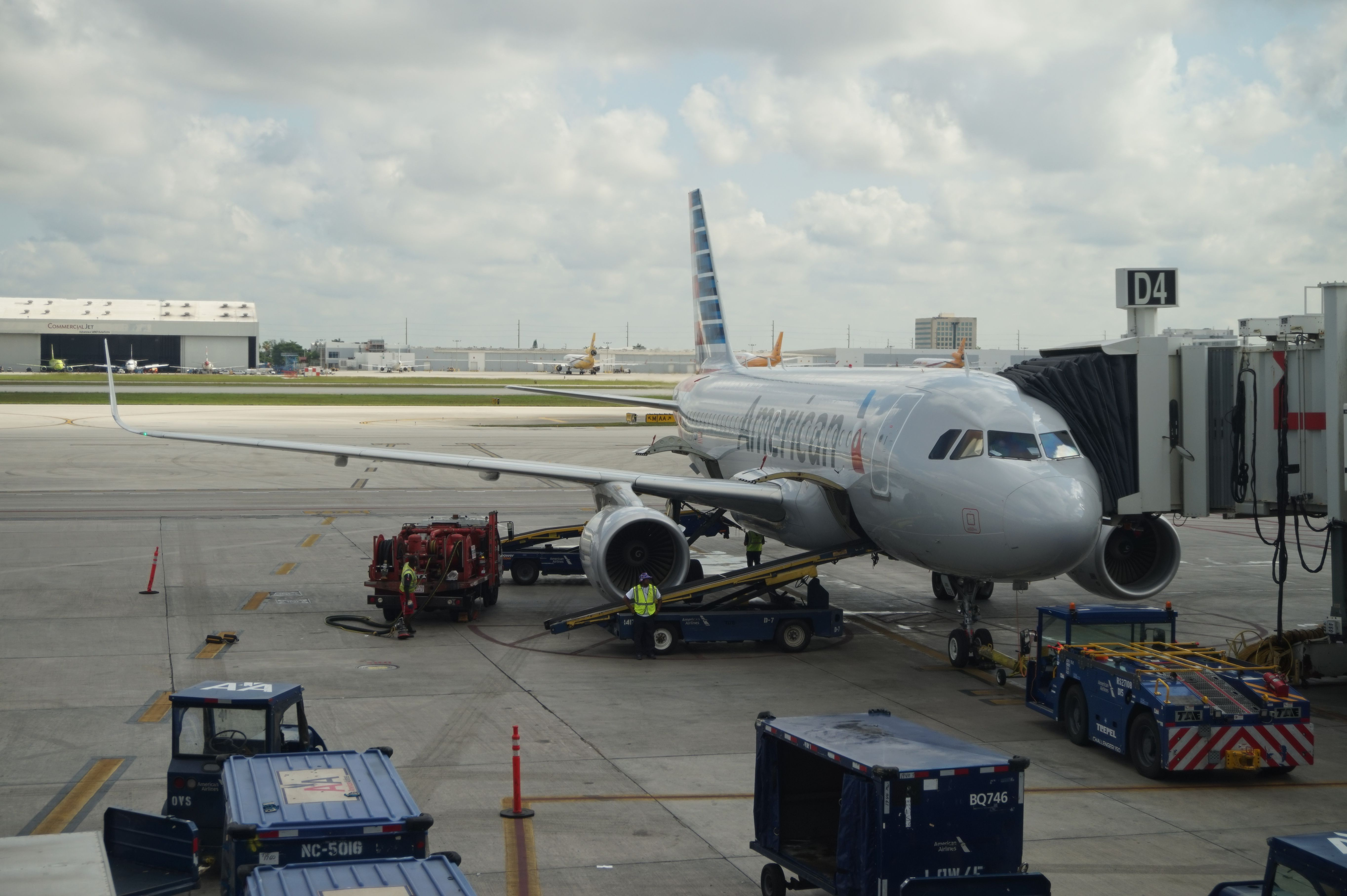 American Airlines at Miami International Airport
