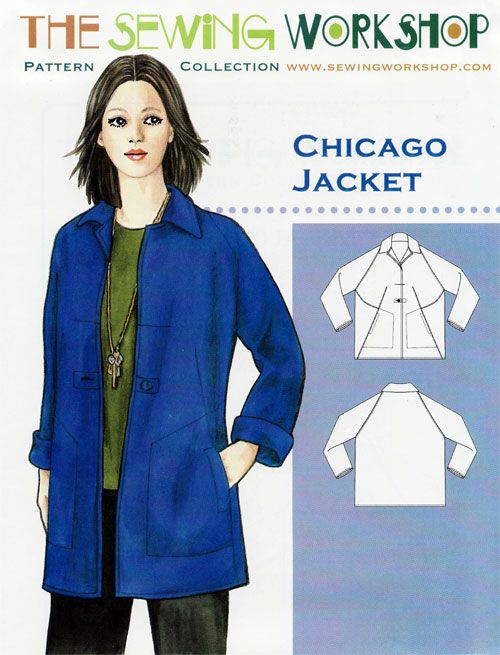 Chicago Jacket Sewing Pattern From The Sewing Workshop Sew My