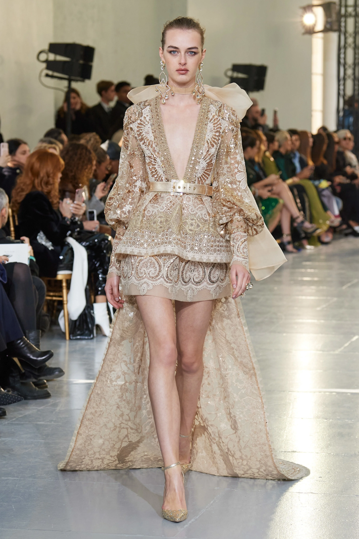 Elie Saab Spring 2020 Couture Collection Vogue Elie Saab Couture Couture Fashion Couture Collection