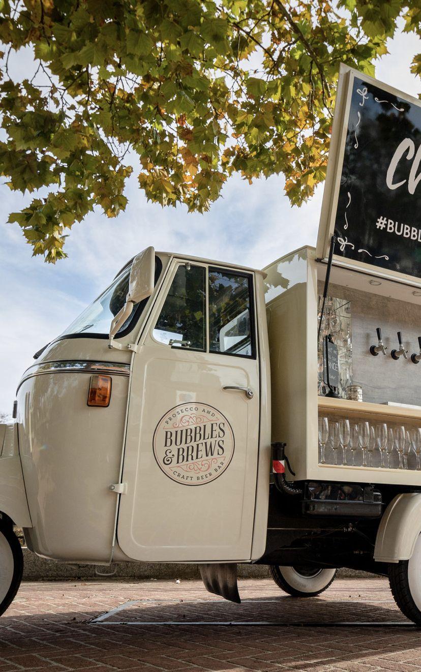 Meet harlowe beer truck food truck design prosecco van
