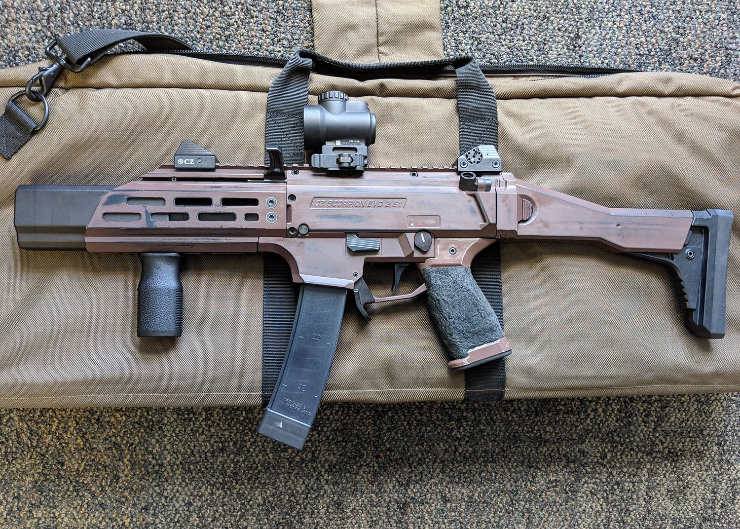 IA-SC9- Integral CZ Scorpion - Innovative Arms Silencers