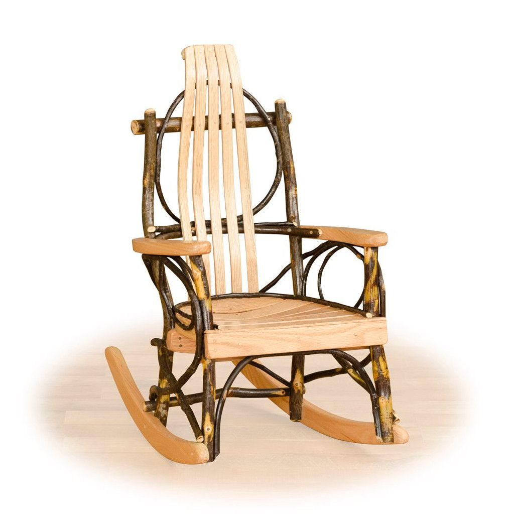 Pleasant Rustic Hickory Twig Childrens Rocking Chair Rustic Andrewgaddart Wooden Chair Designs For Living Room Andrewgaddartcom