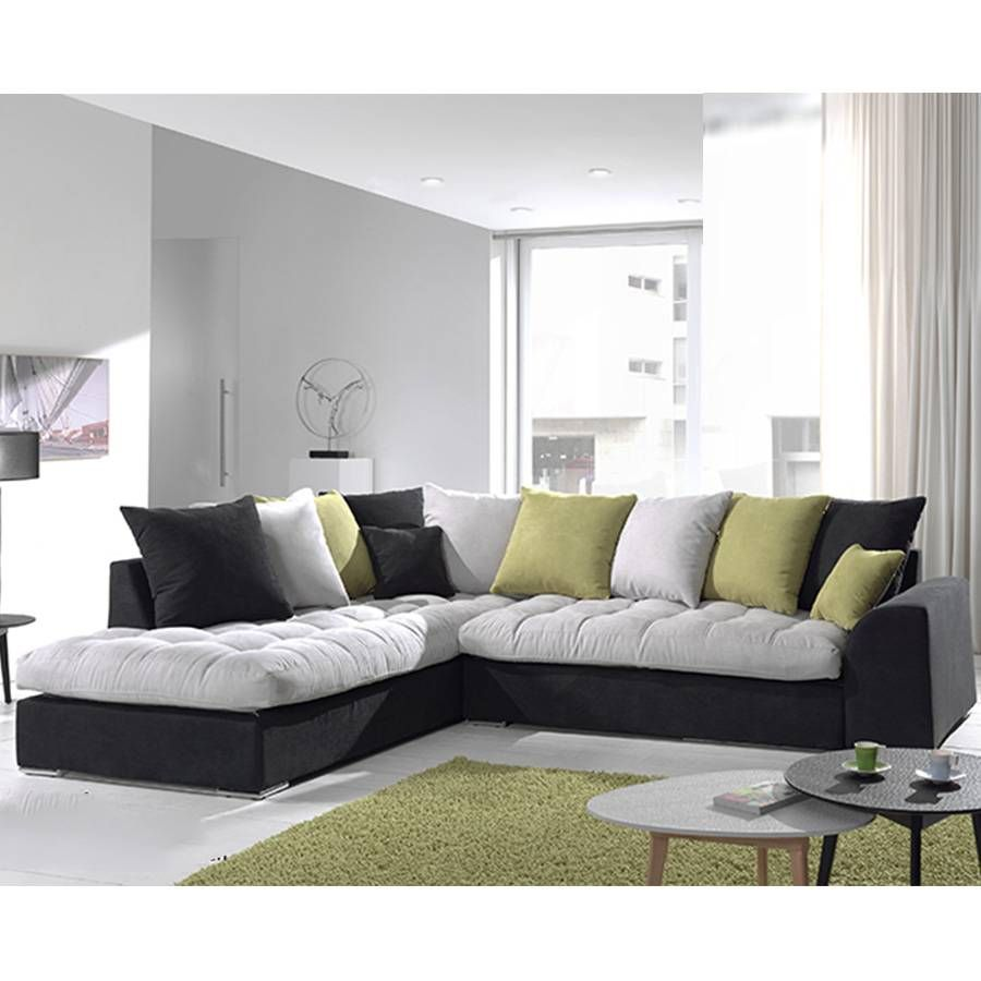 Canape D Angle Tissu Canape Angle Gris Et Noir En Tissu Canape D Angle Tissu Canape D Angle En Tissu Stockholm By Modalto In 2020 Home Decor Sectional Couch Furniture