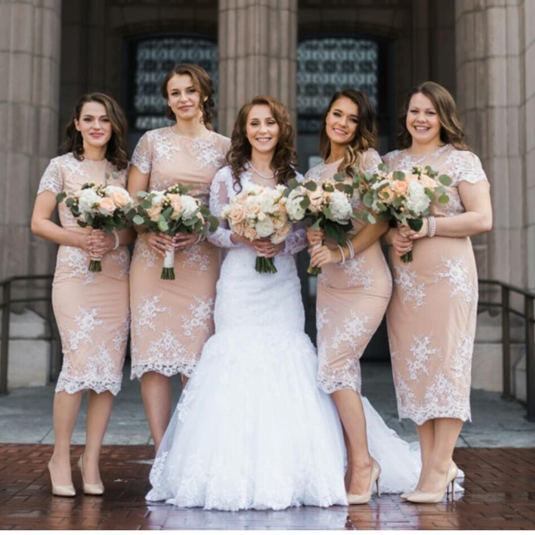 8cca6df501497 Stunning bridesmaids wearing our Laura lace dress. Special Price  AU   100.00…