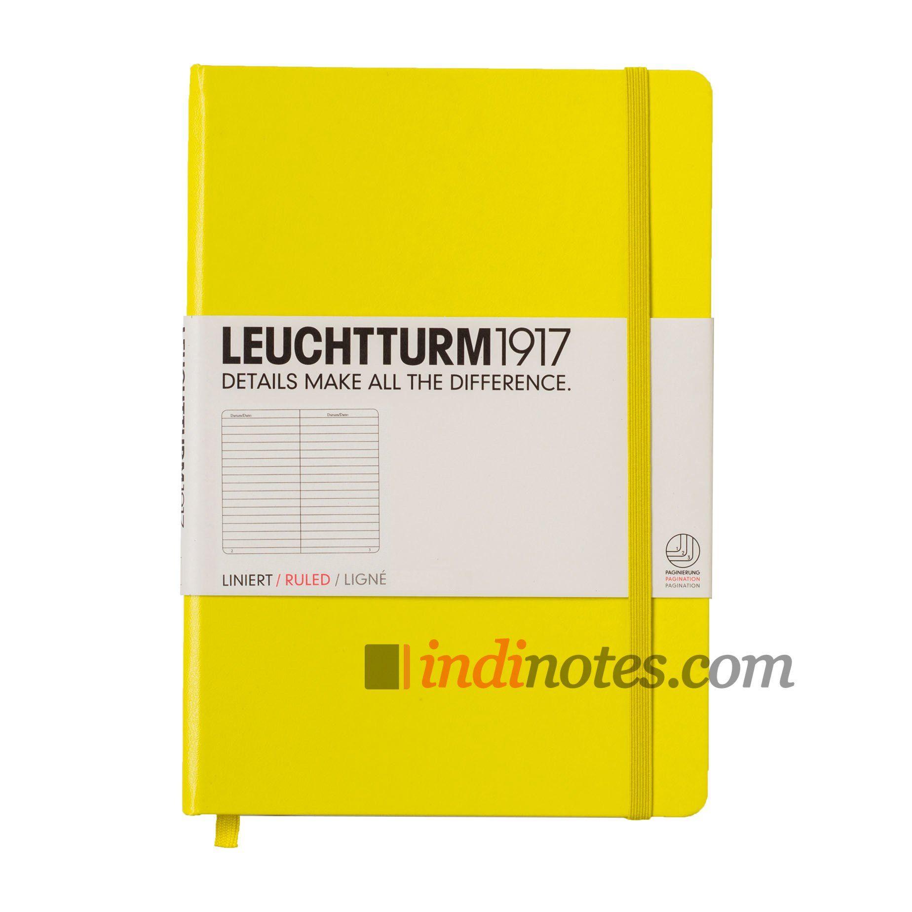 Leuchtturm1917 Medium Notebook Lemon