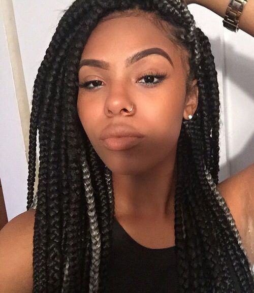 Box Braids Hairstyle Mesmerizing Box Braids Hairstyle  Braids  Pinterest  Box Braids Hairstyles