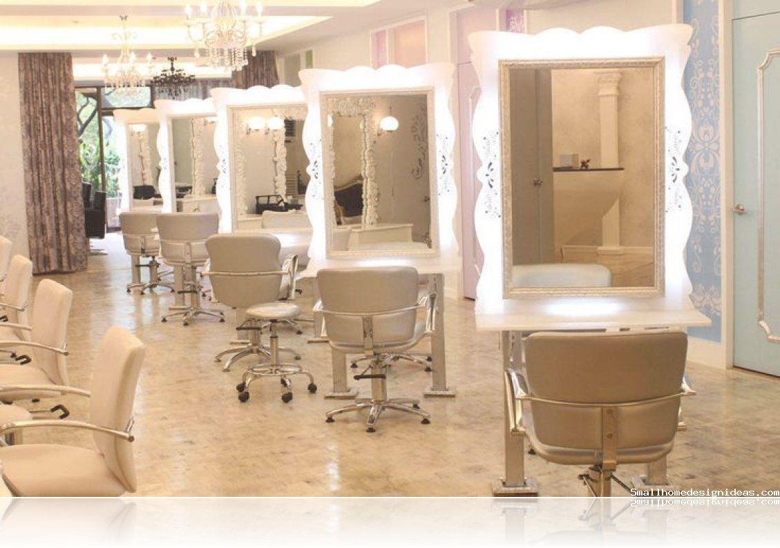 Beauty Salon Decorating Ideas -  Decoração salão de beleza, Sala