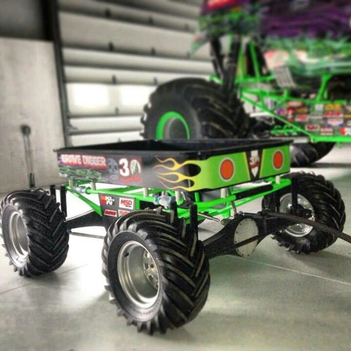 Pictures Of Cool Cars >> awesome Grave Digger wagon. | Cool Wagons, Pedal cars. etc | Pinterest | Pedal car and Cars