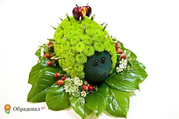 Gallery.ru / Фото #23 - игрушки из живых цветов - semynova