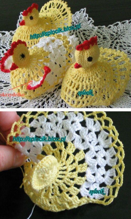 Vintage Crochet Chicken Patterns The Cutest Collection Chicken