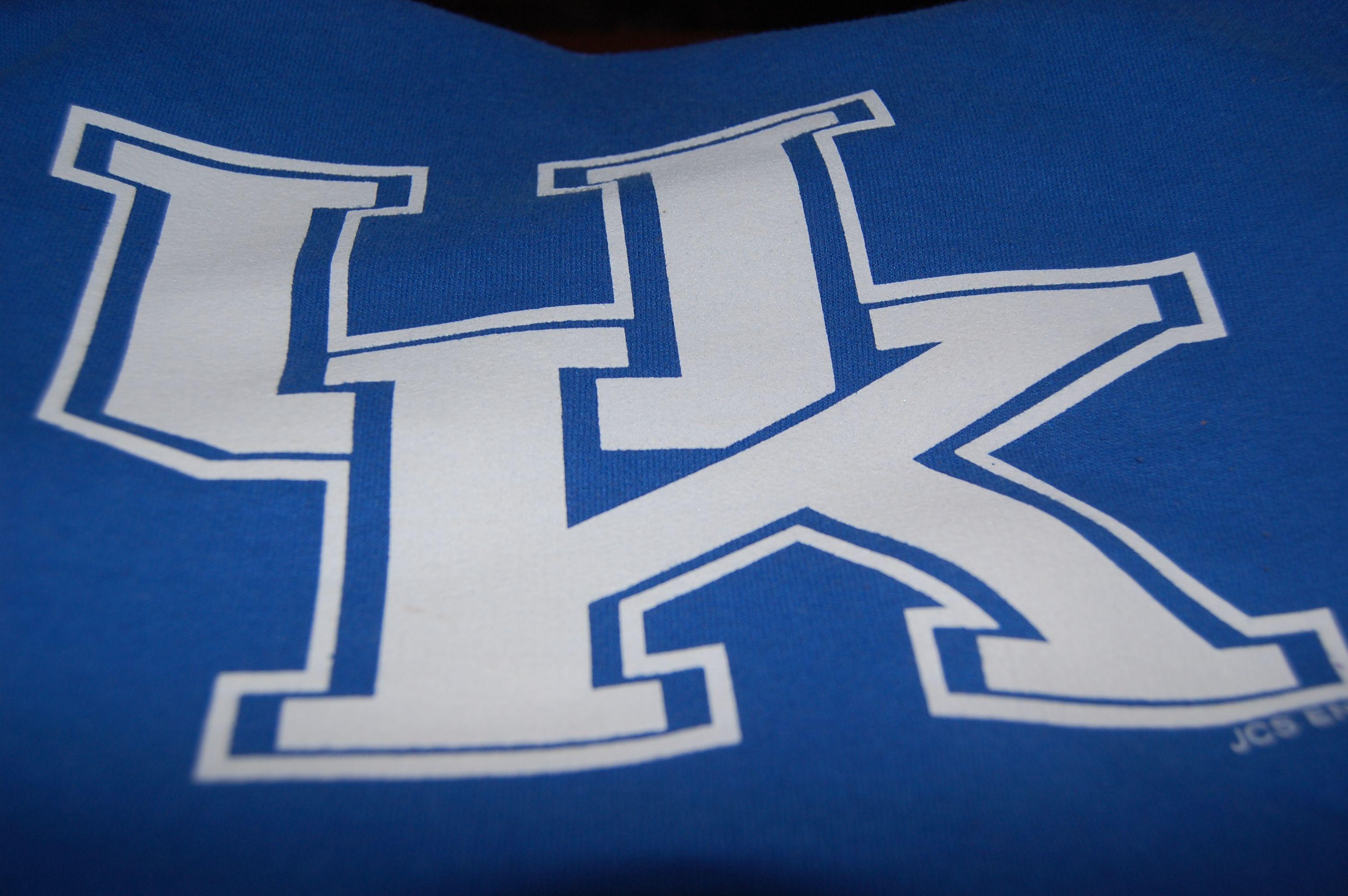 K is for Kentucky Wildcats.