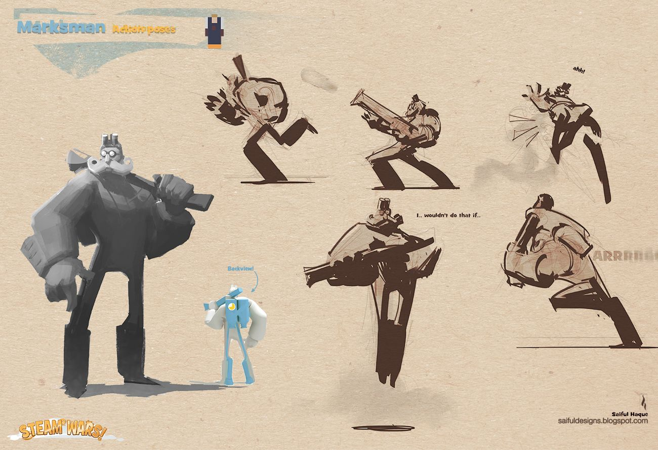 Saiful Haque Stylized Video Game Character Design Lotr Game Character Design Character Design Character