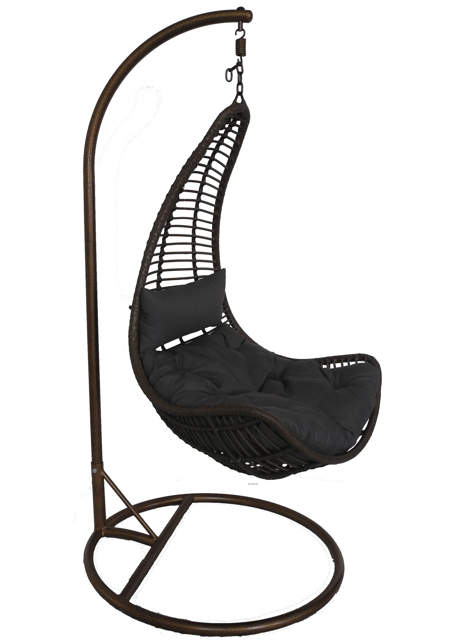 earth de fleur homewares hampton hanging pod chair garden furniture