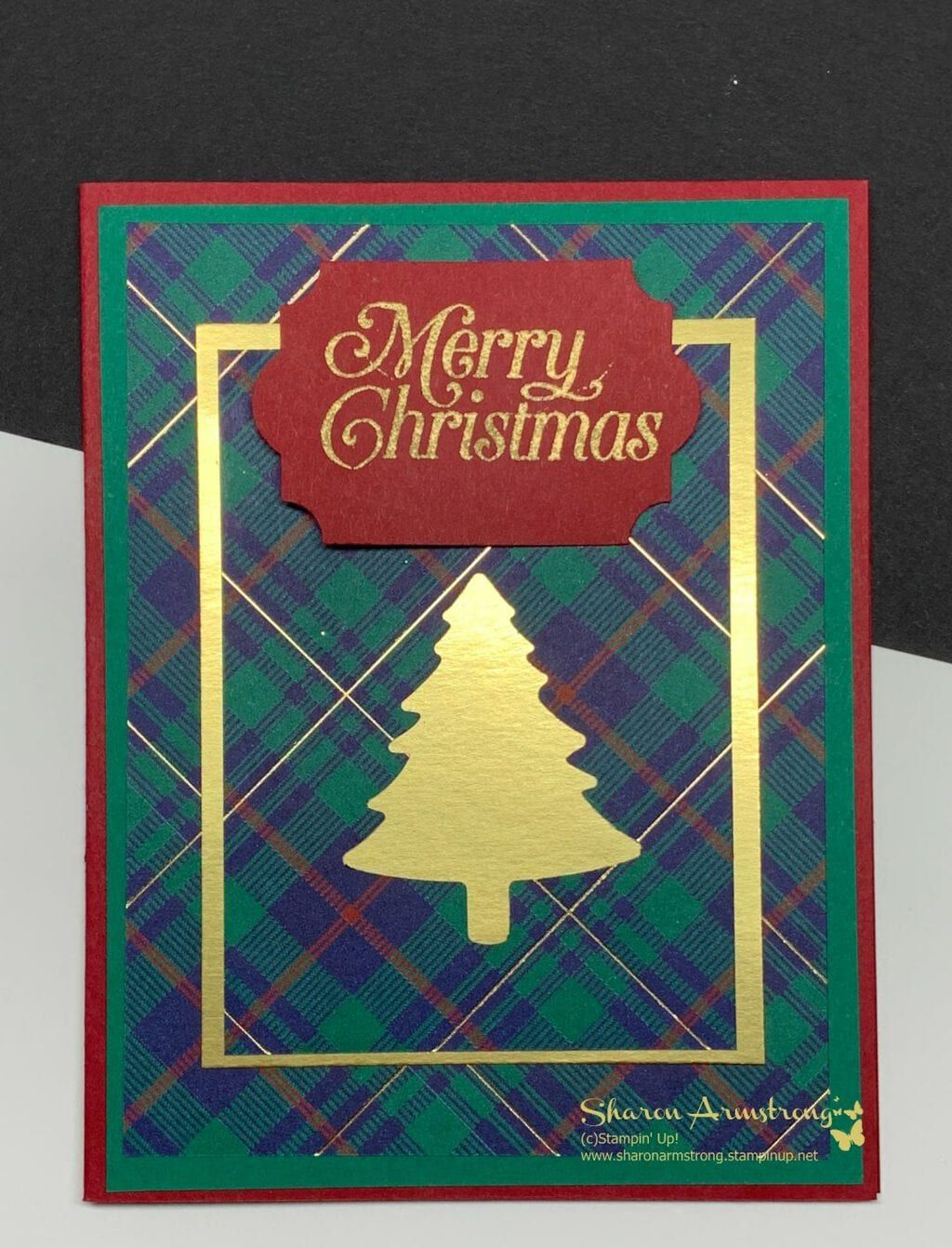 3 Christmas Card Ideas That Are Easy to Make - TX Stampin' Sharon