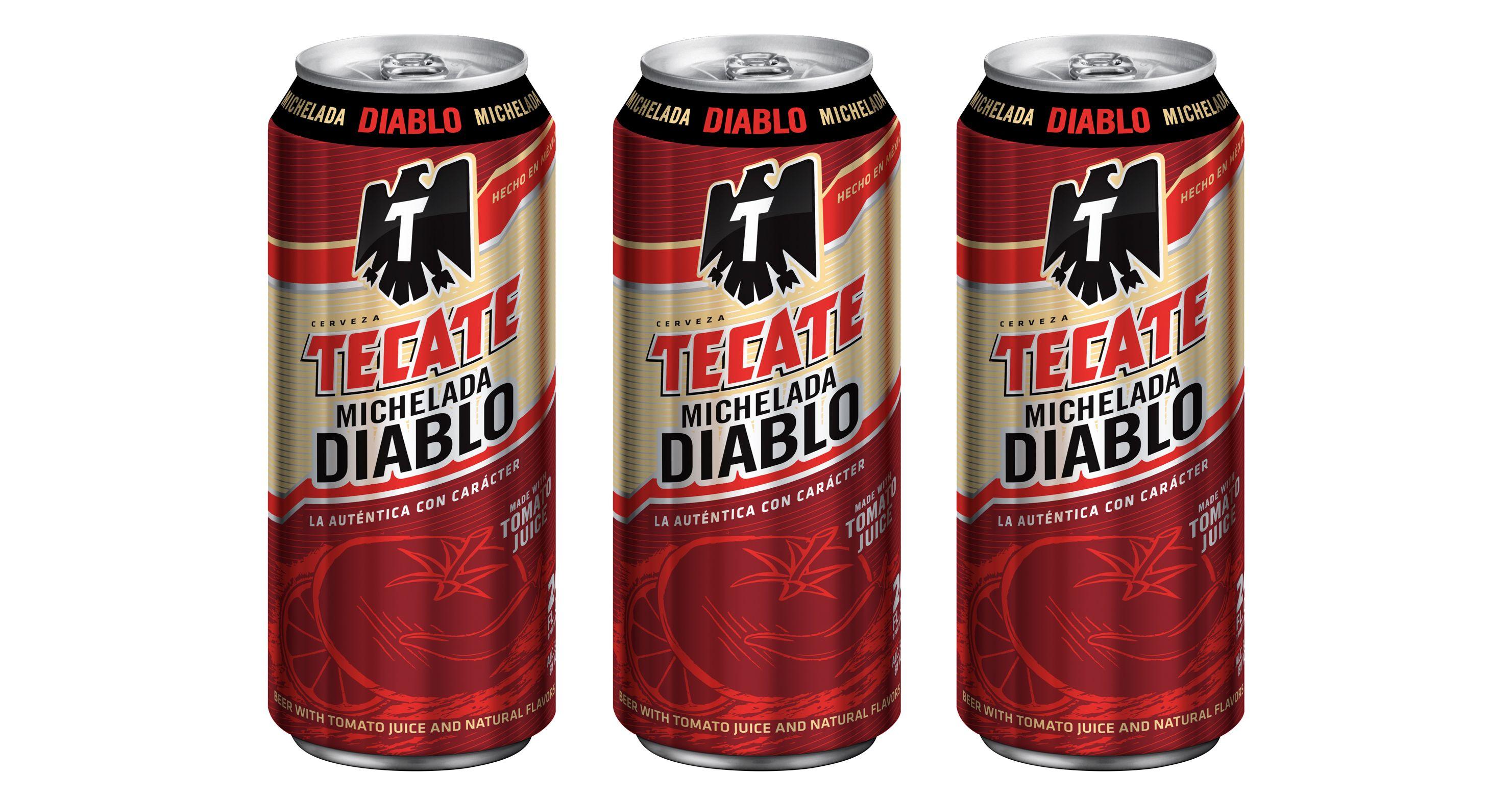 Tecate Expands Role With Tecate Diablo Chilled Magazine Tecate Michelada Diablo