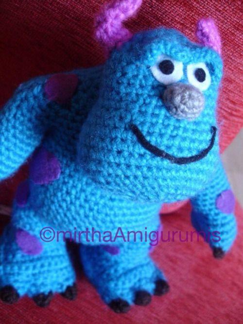Resultado de imagem para amigurume monstros | Monstros de crochê ... | 667x500