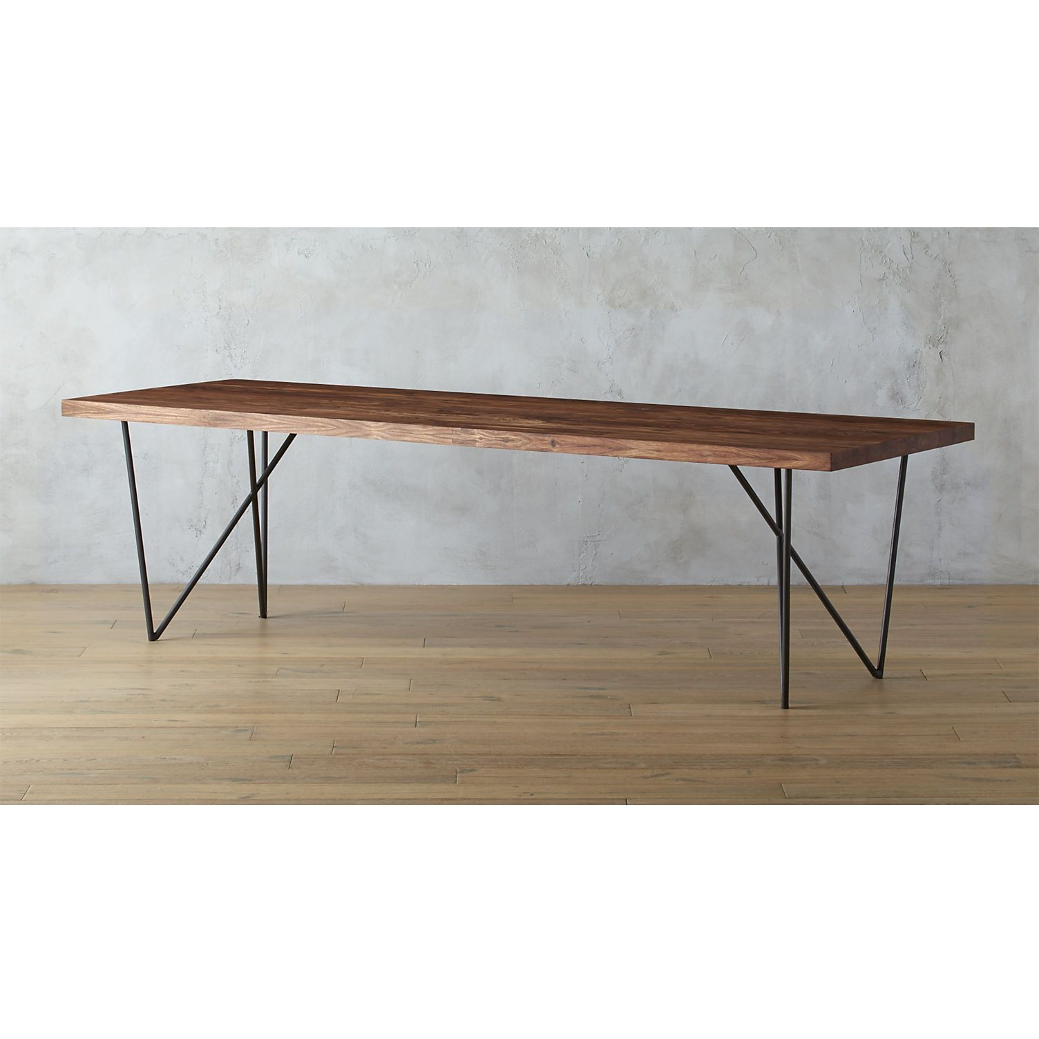 Dylan 36 X104 Dining Table Cb2 Long Dining Table Modern