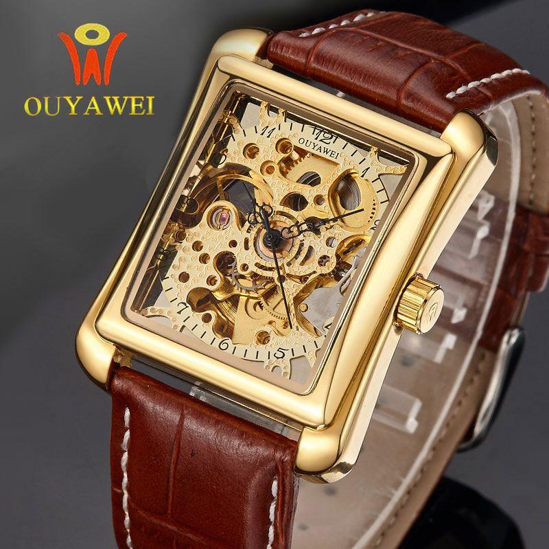 $38.00 (Buy here: https://alitems.com/g/1e8d114494ebda23ff8b16525dc3e8/?i=5&ulp=https%3A%2F%2Fwww.aliexpress.com%2Fitem%2FGold-skeleton-kol-saati-automatic-mechanical-watch-Original-top-brand-OUYAWEI-luxury-men-s-watch-sport%2F32719806305.html ) Gold Skeleton Kol Saati Automatic Mechanical Watch Original Top Brand OUYAWEI Luxury Men's Watch Sport Military reloj hombre2016 for just $38.00