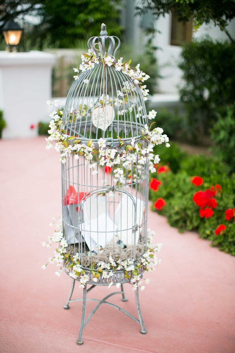 wedding birdcage decorations reception d 233 cor photos bird cage decorated for notes 8436