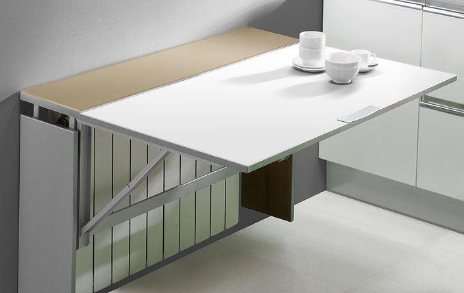 Mesas bilbococinas ideas para el hogar pinterest for Mesas para espacios pequenos