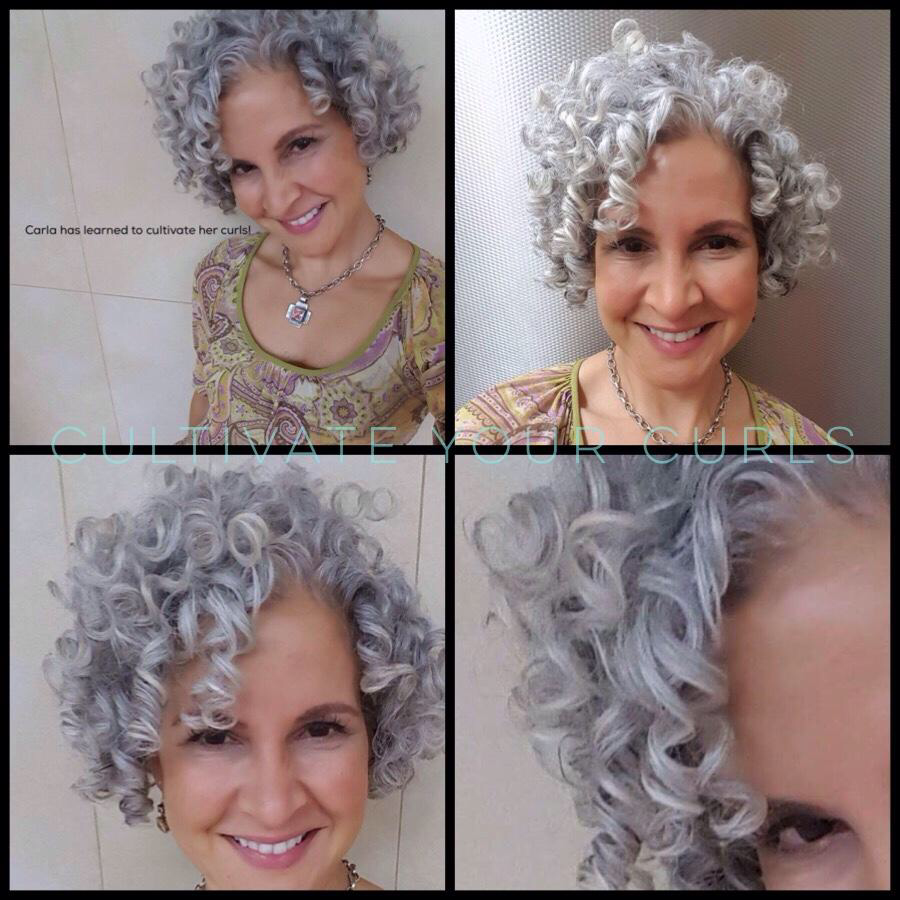 Cultivate Your Curls Withthe Map Method Online Course Curly Silver Hair Super Curly Hair Curly Hair Styles