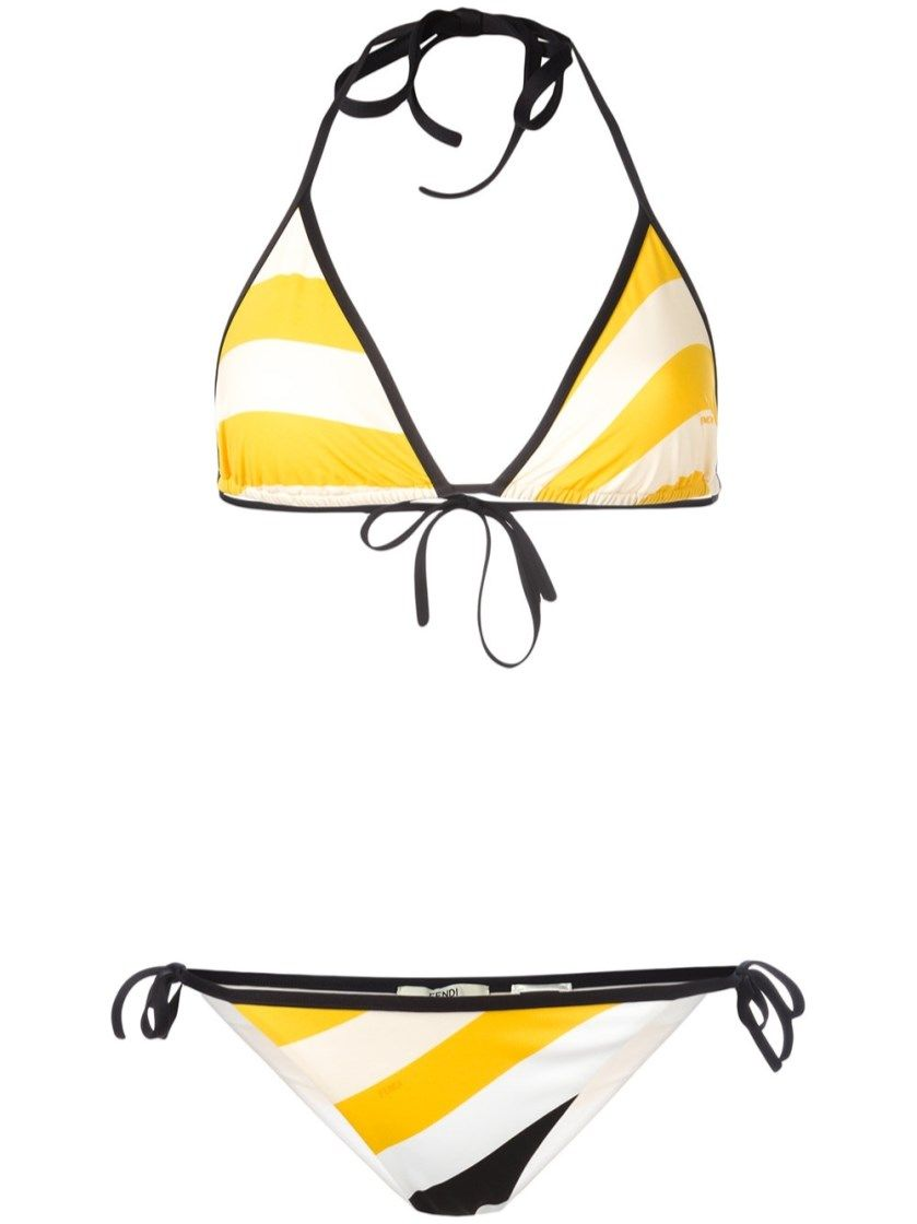 FENDI Triangle Bikini. #fendi #cloth #bikini