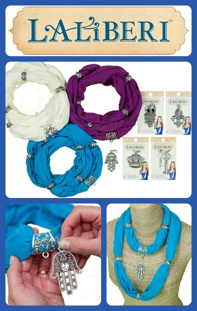 DIY Laliberi Pendant Scarves Accessories    ...